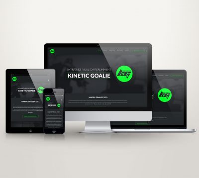 Audrey Cloutier Design+Web - Kinetic Goalie